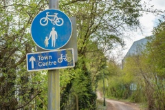Shared Use Town Centre Route