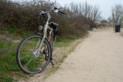 Bicycle by the Sand