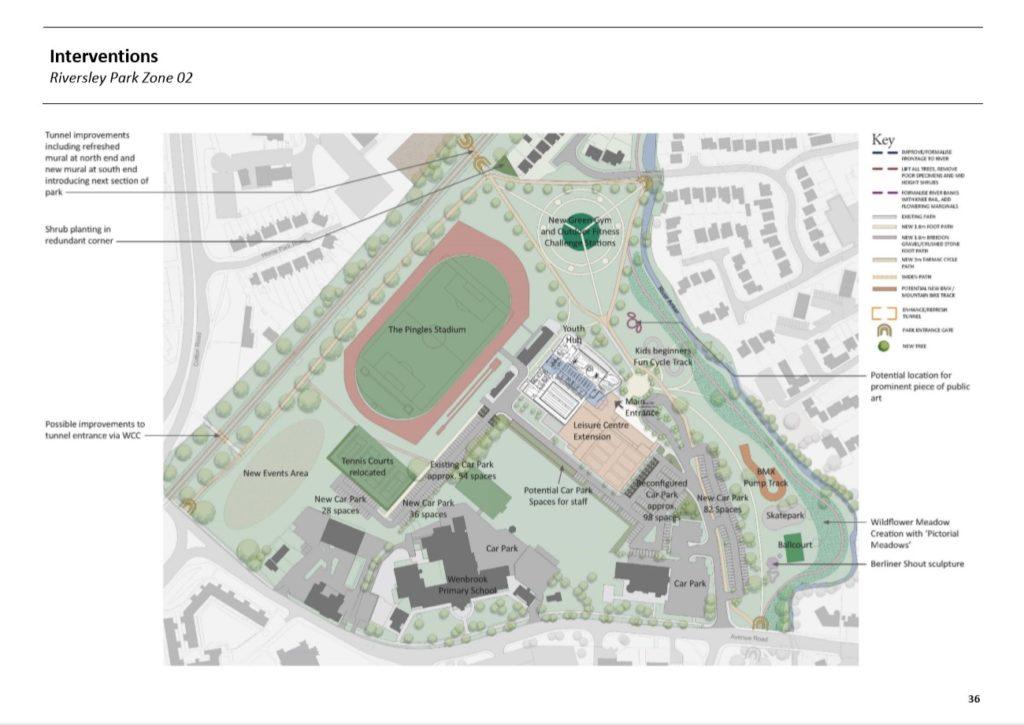 The Pingles Development Plans