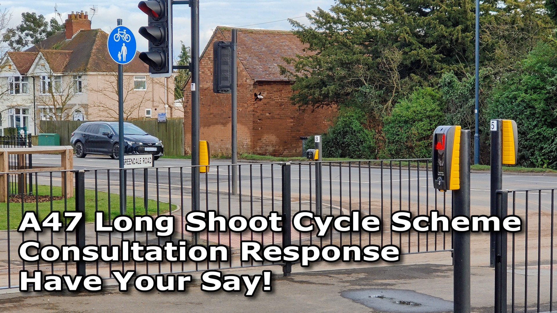 A47 Long Shoot Cycle Scheme Consultation Response - Cover Image