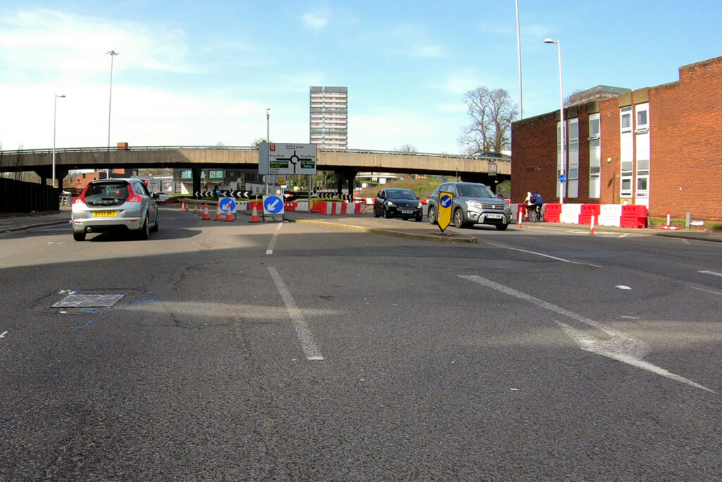 Upper Well Street, Coventry (North Bound)
