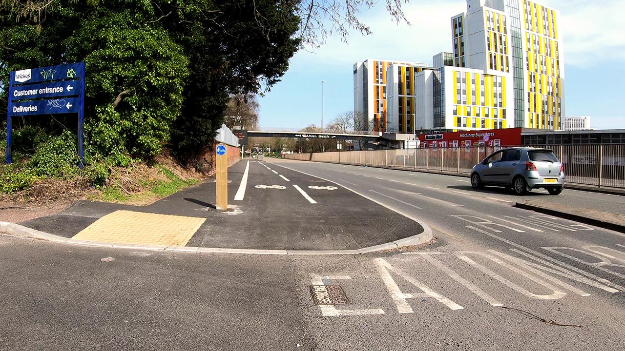 Pop-up Cycle Lane