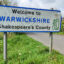 Warwickshire Road Sign